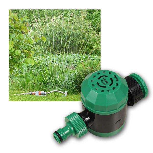 Bewässerungsuhr Wasserzeitschaltuhr 6bar 5-120 Min