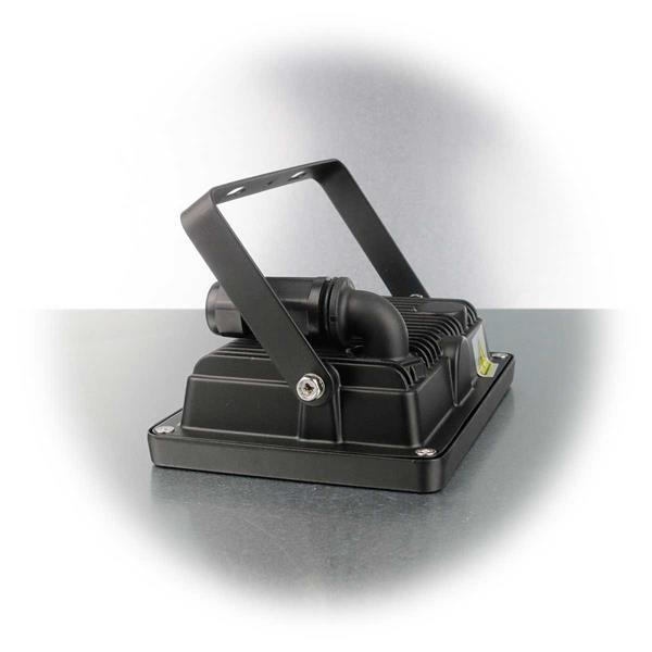 der Halter des LED Highpower Strahler ist stufenlos drehbar