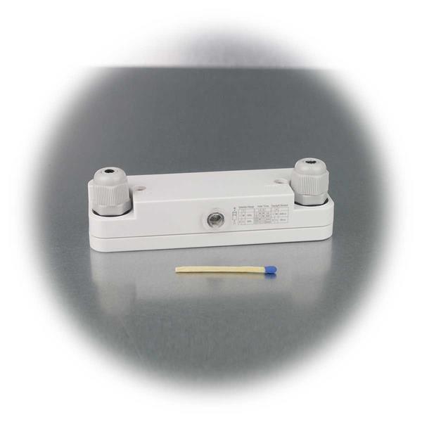 kleiner und kompakter Mikrowellen Bewegungsmelder für Feuchträume