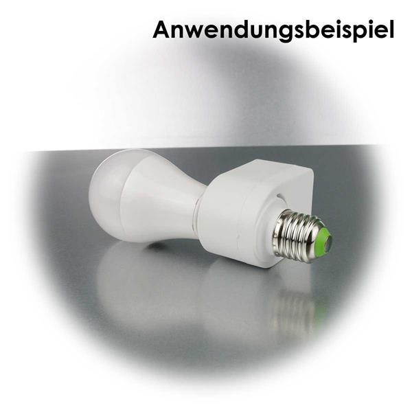 Präzisionssteuerung via Mikrowellen schaltet angeschlossene Lampen bei Bewegung ein