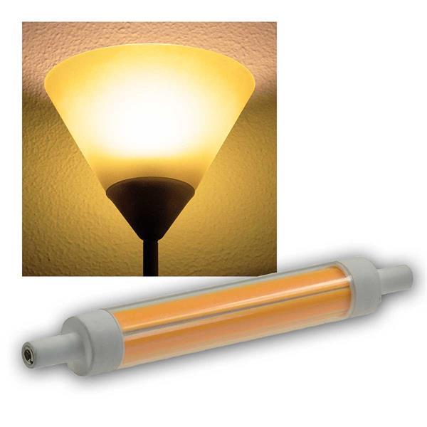 R7s Leuchtstab dimmba 118mm warmweiß 780lm 360° 9W