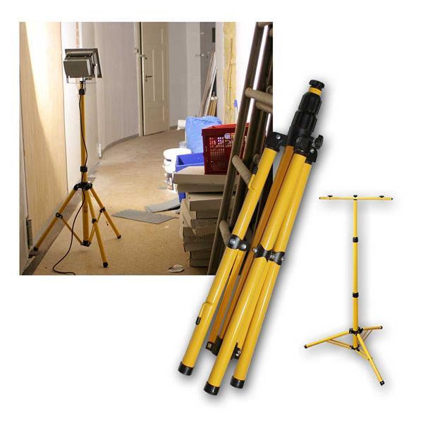 Stativ bzw Ständer für 1/2/3 LED Fluter, 1,45m