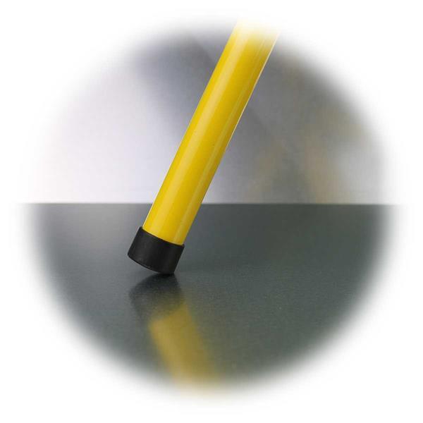 sicherer und stabiler Stand auf allen Oberflächen durch Gummifüsse