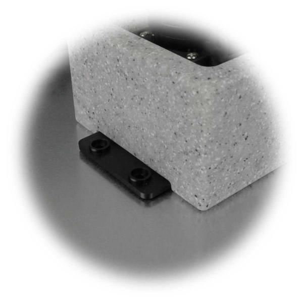 Außensteckdosen mit Montagelaschen für Wand- und Bodenmontage