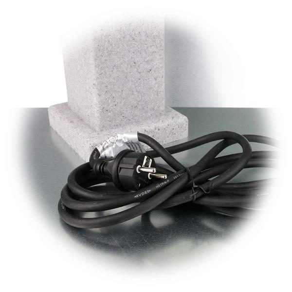 Gummianschlussleitung von ca. 3m mit Schutzkontaktstecker
