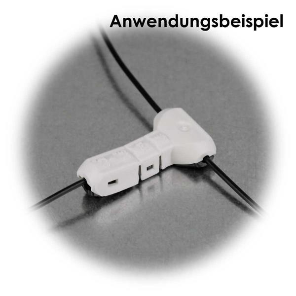 lösbare Kabelverbindungen von Kabel an bereits bestehendes Kabel
