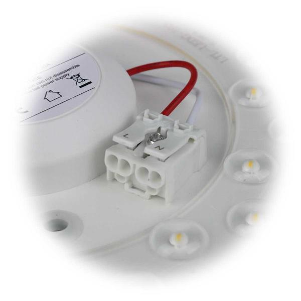 LED Deckenlampe für direkten Anschluss an 230V
