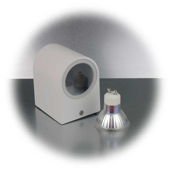 LED Spotleuchte mit einem 3W GU10 COB LED Leuchtmittel