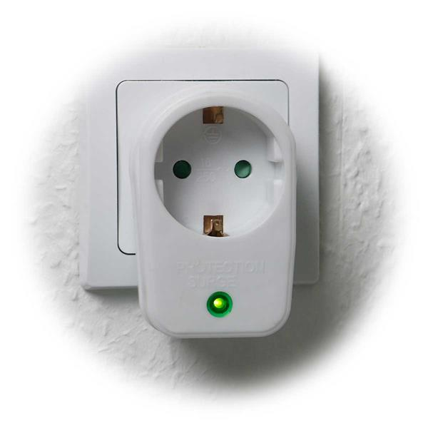 Adapter mit optischer Funktionsanzeige im Betriebszustand