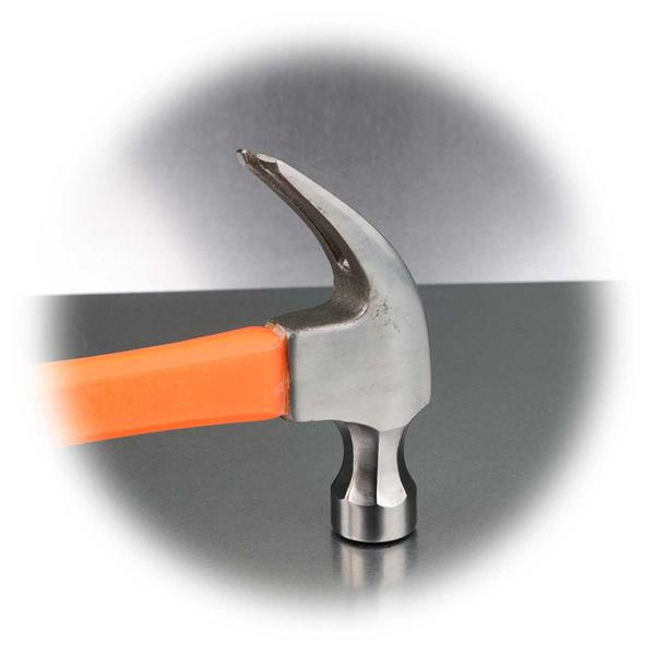 Hammerkopf aus polierten gehärtete Stahl-Legierung