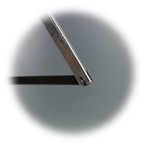 Metallsägeblätter in 90° Position für gute Schnittergebnisse