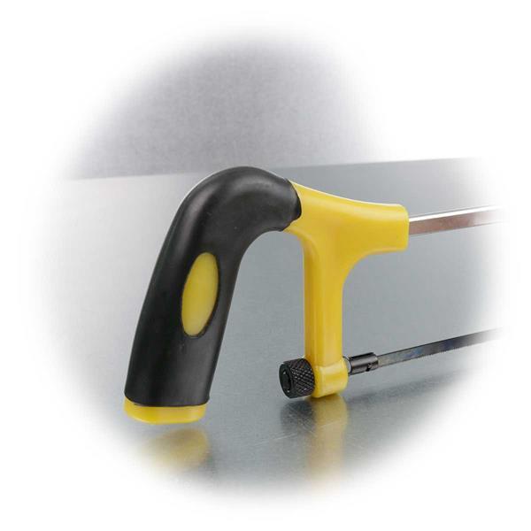 gummierter Handgriff für eine optimale Kraftübertragung