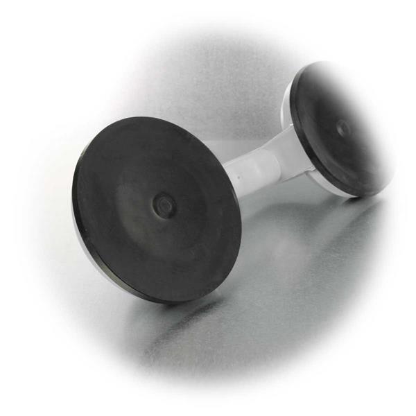 Werkzeug mit Saugfüßen zum Festhalten von Materialien bis 70kg