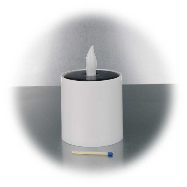 LED Kunststoffkerze mit Schutzklasse IP44
