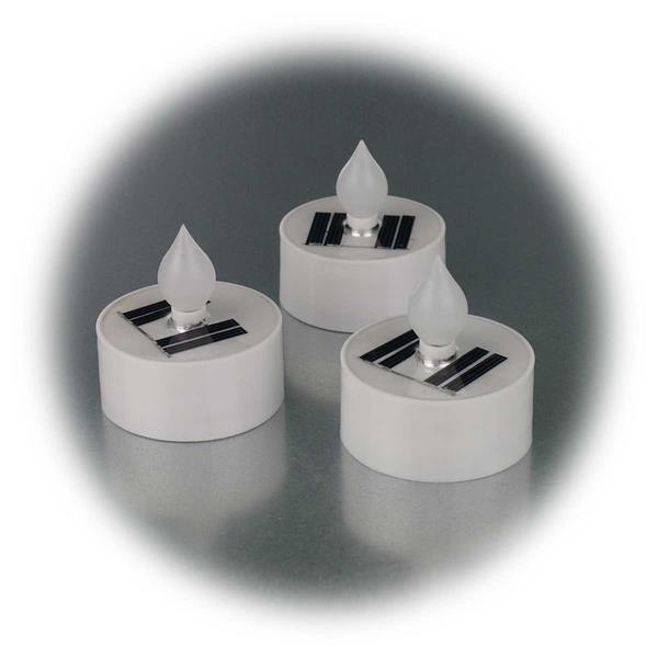LED Kunststoffkerzen mit Schutzklasse IP44