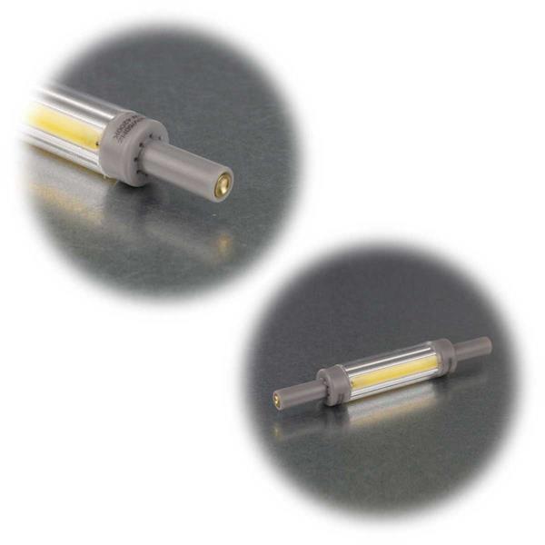 Warm- oder tageslichtweißes R7s-Leuchtmittel in 3 Stärken