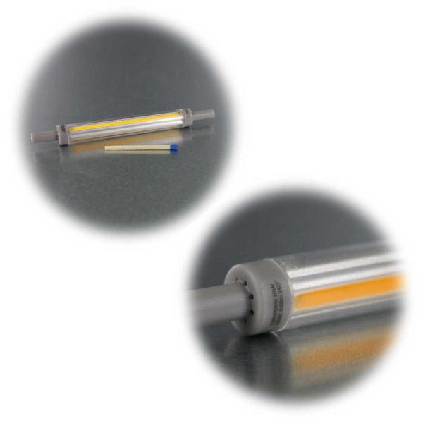 Warm- oder neutralweißer Leuchtstab mit R7s-Sockel