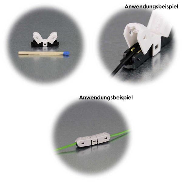10er Set Schneidklemmen zum Abzweigen oder Verbinden