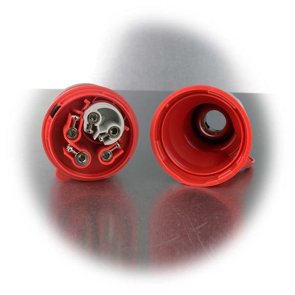 Kabel ist mittels Schraubklemmen leicht zu montieren