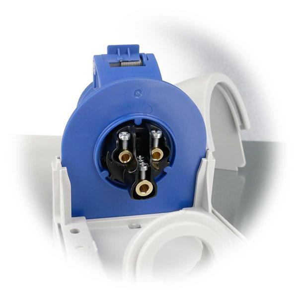 Stromanschluss 2-polig + PE, 6h für 230V für Kraftstromgeräte