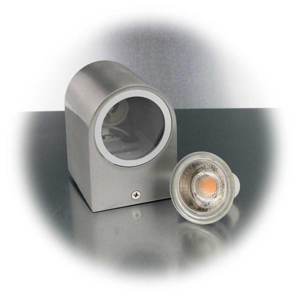 LED Spotleuchte mit einem 5W GU10 COB LED Leuchtmittel
