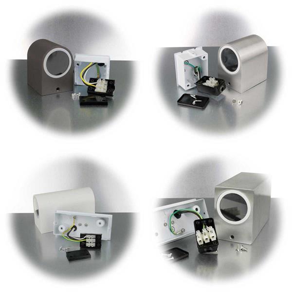 LED Wandleuchte für direkten Anschluss an 230V
