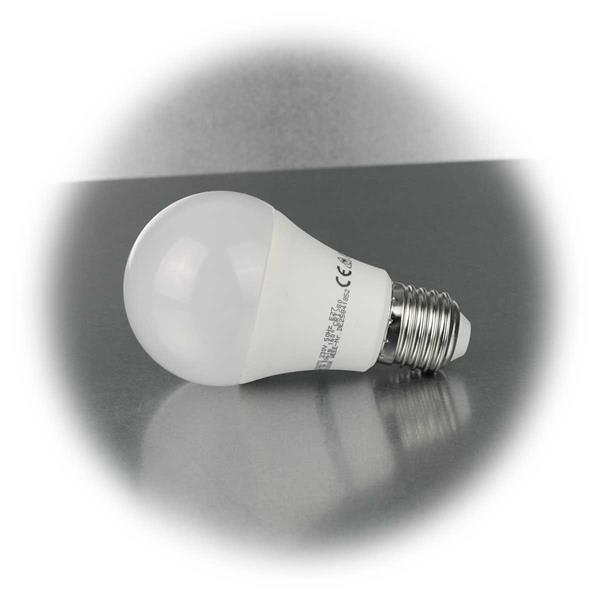 LED Glühlampe Fassung E27 mit dem Maß Ø60x105mm