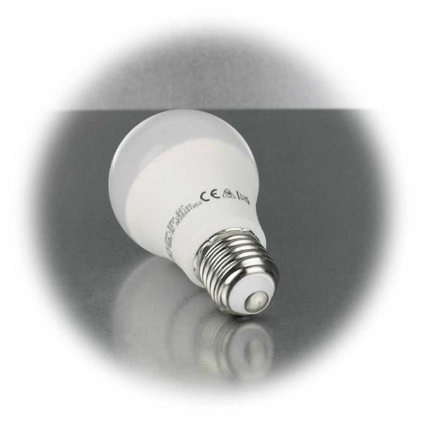 LED Energiesparlampe mit Sockel E27 für 230V und 10W Verbrauch