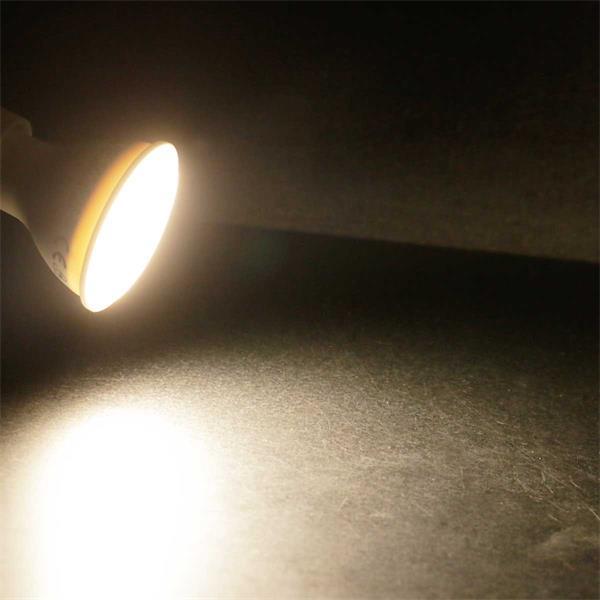 GU10 LED Leuchtmittel mit 160° Abstrahlwinkel und 400lm