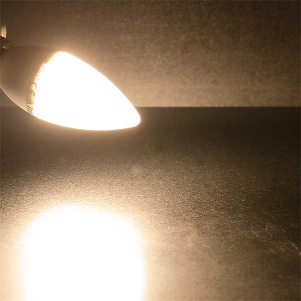 E14 LED Leuchtmittel mit 160° Abstrahlwinkel und 400lm
