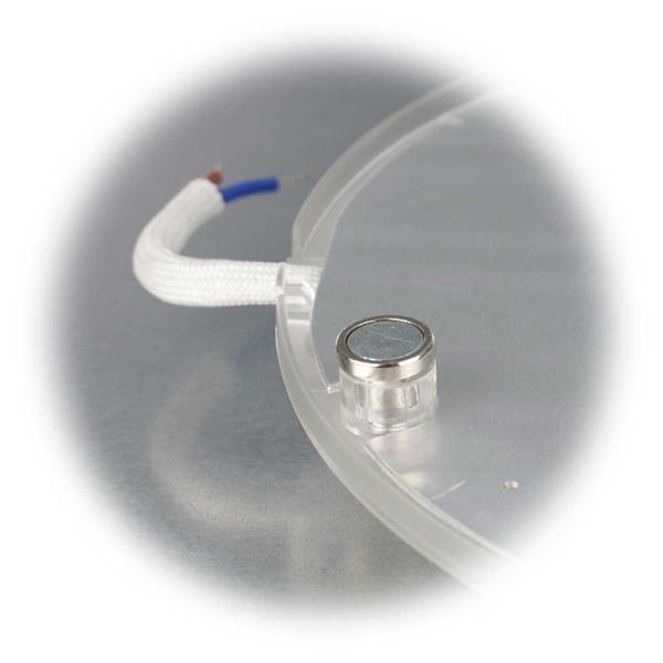 Umrüstplatine mit starken magneten für festen Halt