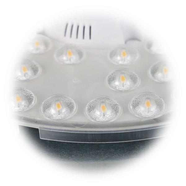 Umbaumodul mit Kunststoffgehäuse zum Schutz der LEDs
