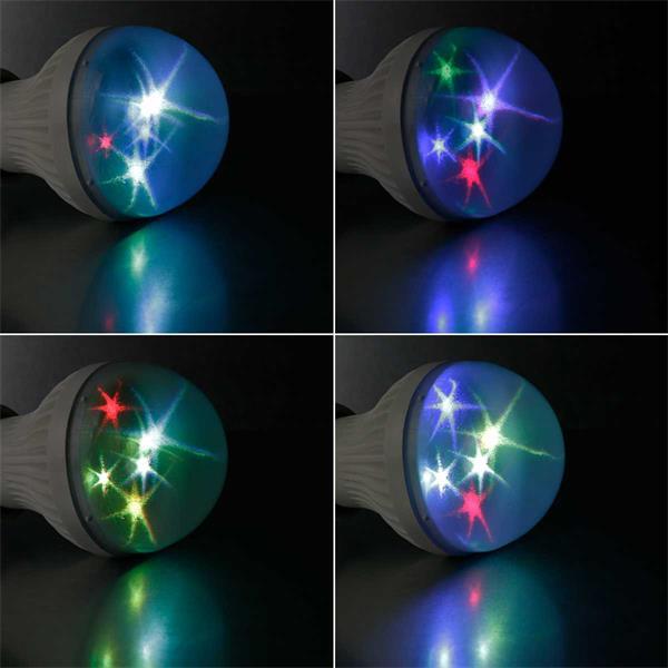 LED Strahler mit Hologramm Effekt für Partyfeeling