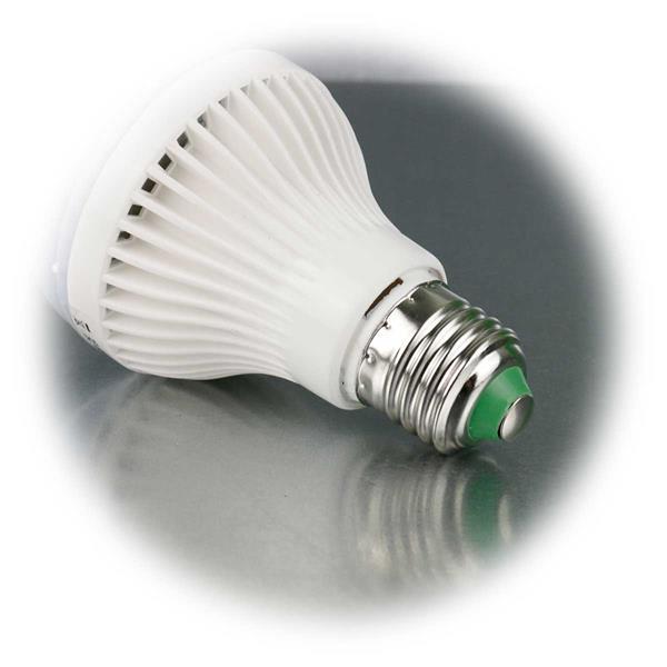 LED Partylicht mit Lampensockel E27 für 230V