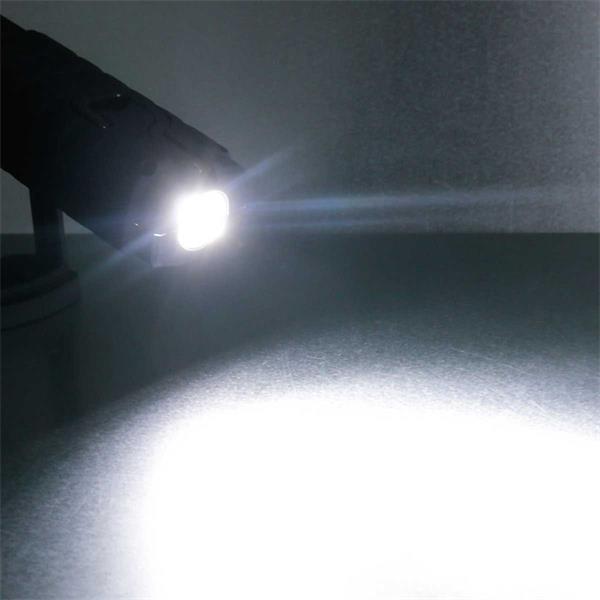 LED Leuchte mit Taschenlampe für perfekte Ausleuchtung