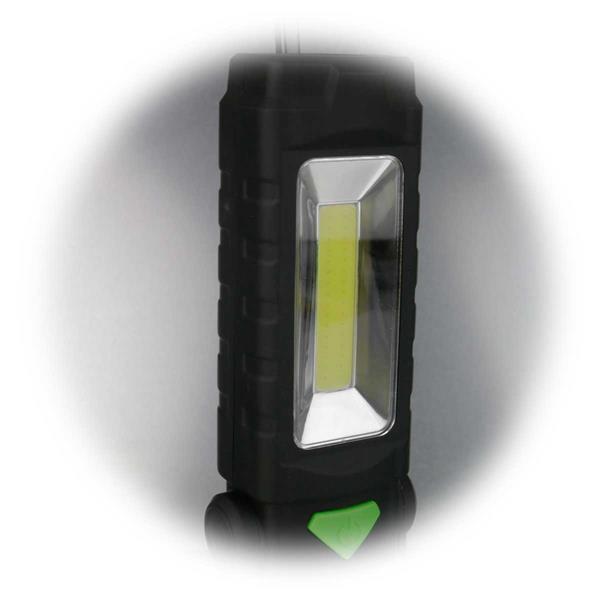 LED Arbeitsleuchte mit 3W COB LED und zwei Leuchtstärken