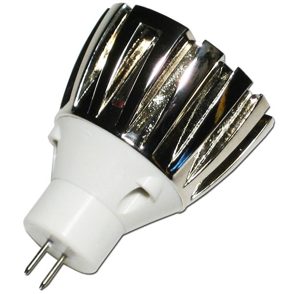 LED Spot MR11 12V AC/DC für Sockel G4 und nur ca. 1W Verbrauch