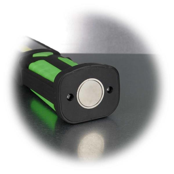 LED Lampe mit praktischen Magnethalter und Aufhänger