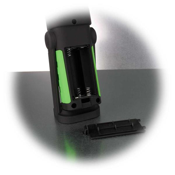 LED Stableuchte funktioniert batteriebetrieben
