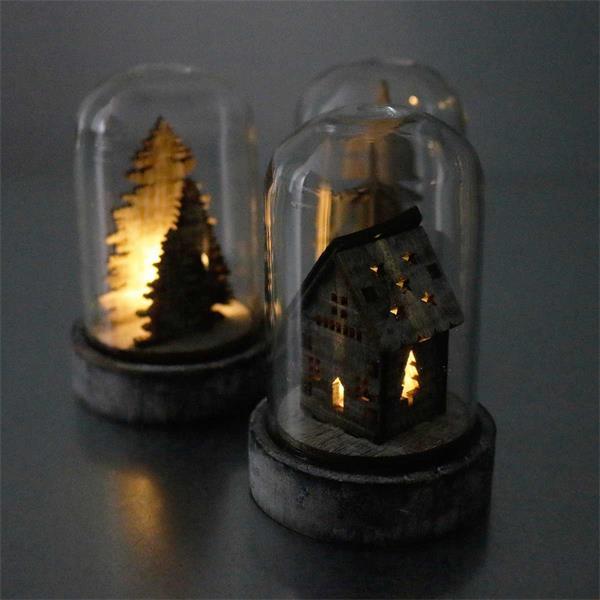 Stimmungslicht für die winterliche Dekoration mit großer Wirkung