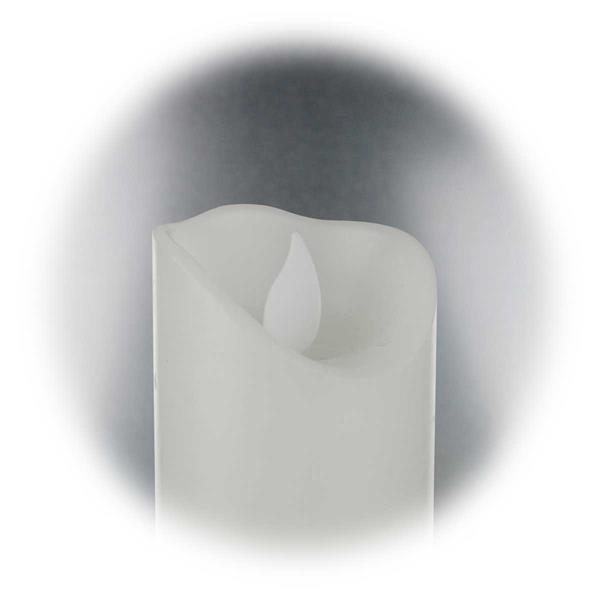 LED Weihnachtskerze mit Echtwachs für Ihr Dekorationskonzept