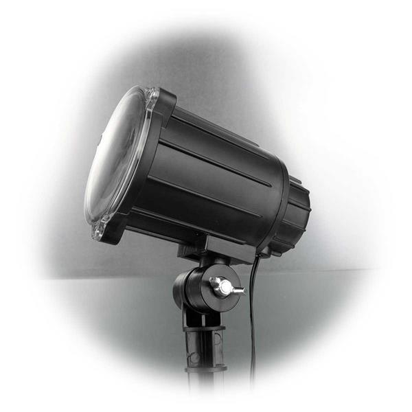 led laser projektor wei schneeflocken. Black Bedroom Furniture Sets. Home Design Ideas