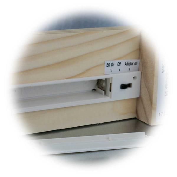 LED Schwibbogen mit moderner LED Technik und Batteriebetrieb