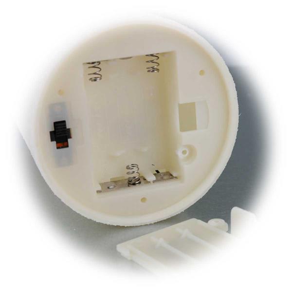 LED Stumpenkerzen für Batteriebetrieb mit je 3x AAA Batterien