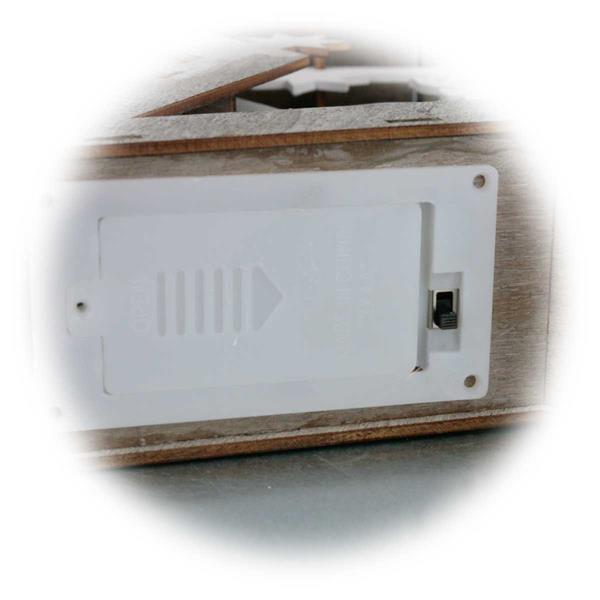 LED Standbild mit Motiven aus der Natur moderner LED Technik