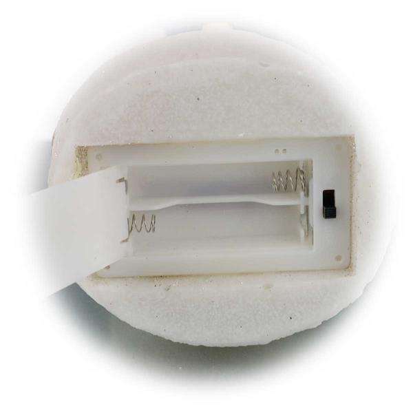 LED Winterdeko mit Batteriebetrieb und LED Technologie