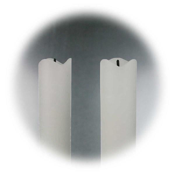 LED Tafelkerzen mit Echtwachsoberfläche für Kerzenleuchter