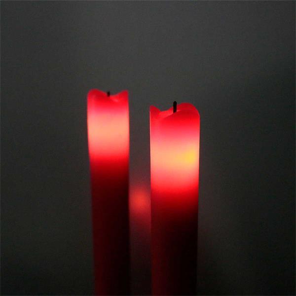 LED Echtwachskerzen erzeugen ein gemütliches Stimmungslicht