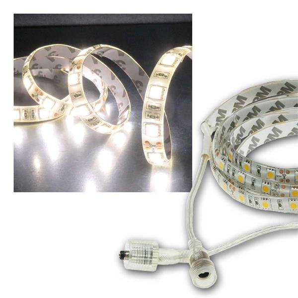 LED Stripe 5m, neutralweiß 4400lm, 12V/50W, IP44
