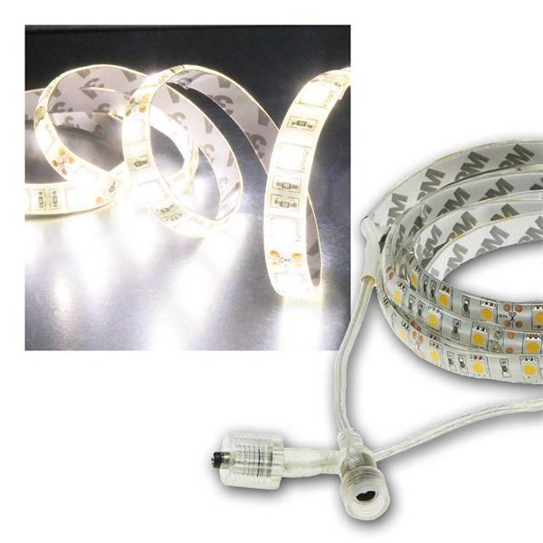 LED Stripe 10m, neutralweiß 8500lm, 12V/100W, IP44